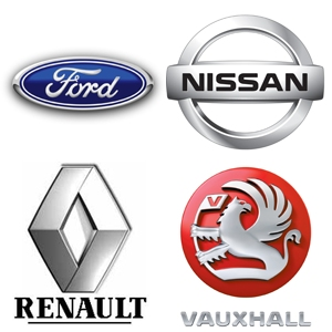 Ford Renault Vauxhall Nissan Servicing